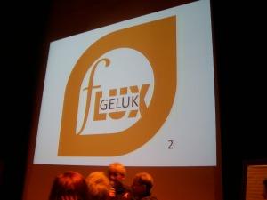 Het logo van fLUX