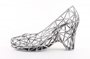 zilveren schoen