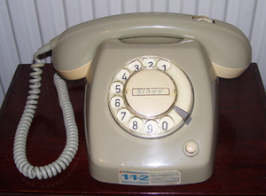 Nostalgie: telefoon