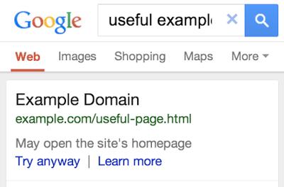 Foutmelding Google