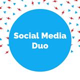 social media duo logo