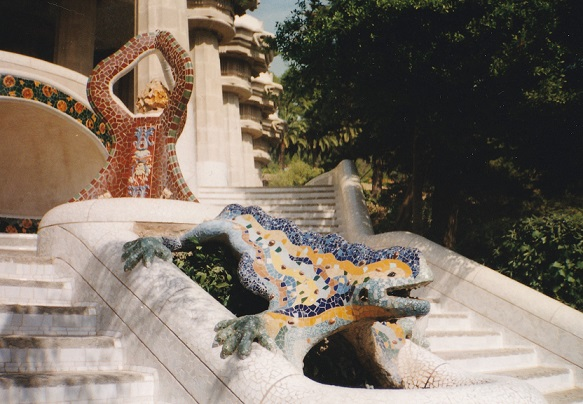 Parque Guell Barcelona 1997