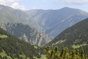 Berggebied Fontalba Pyreneeën