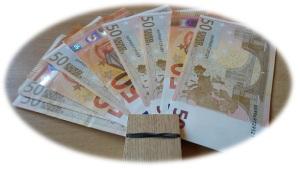 Geld 50 euro biljetten