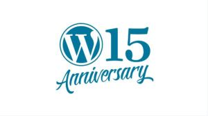 WordPress 15 jaar!