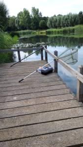 Klaar om te vissen