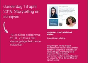Storytelling en schrijven bij Vonk Wijchen