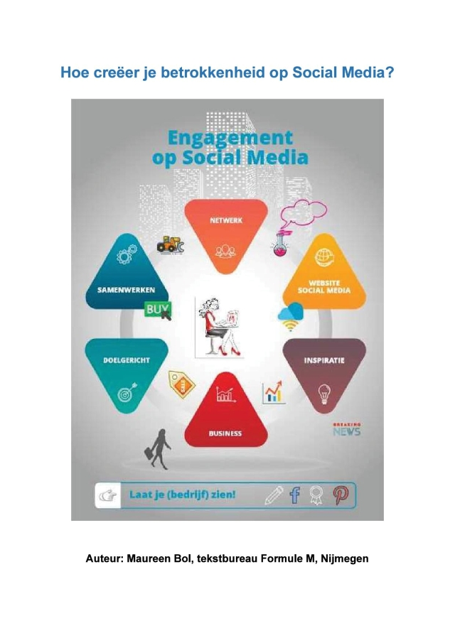E-book Engagement op Social Media. Hoe creëer je betrokkenheid op social media.